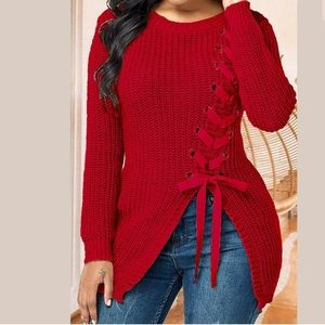 Brand New L/S  Knitted Design Sweater Junior Sizes